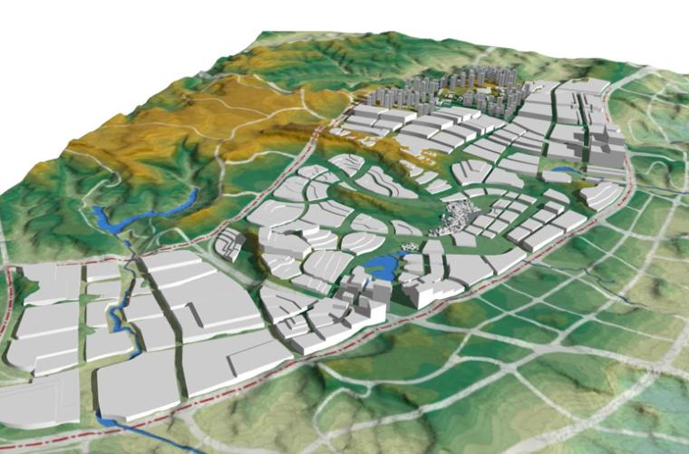 [重庆]两江新区中韩产业园城市设计方案文本