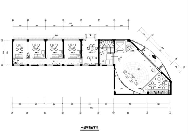 欧式风格长乐空港之夜国际音乐会所设计施工图(附效果图)