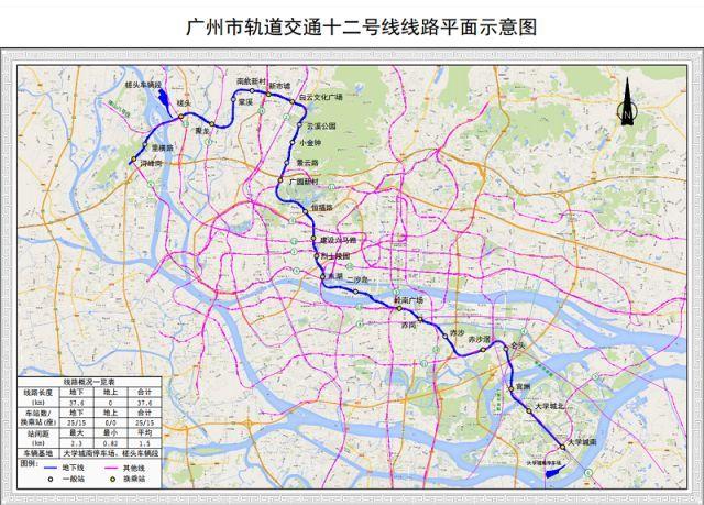 1000多亿!广州6条地铁开工,你们准备好了吗?_7