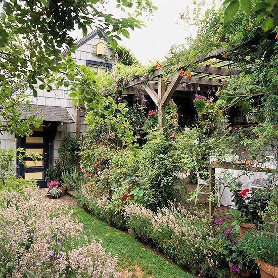 你真正需要的,也许只是一个小院,看繁花爬满篱笆_21