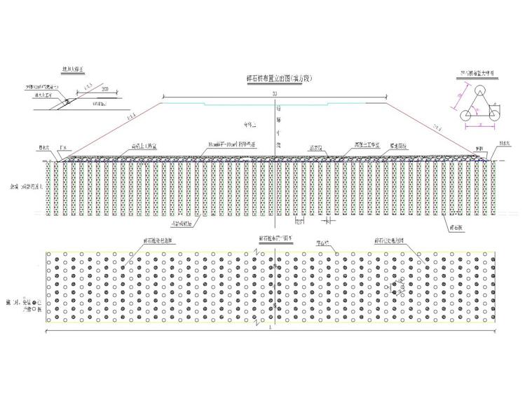 市政道路路基工程施工方案46页(碎石桩)