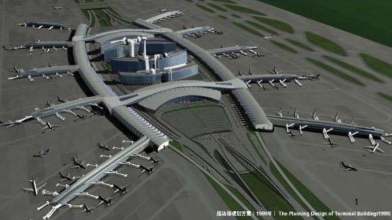 漫谈金属屋面的建筑设计应用(1)——广州新白云国际机场航站楼_3