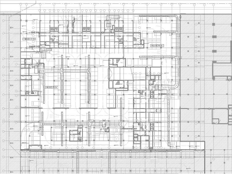[广东]超高层商务公寓空调通风防排烟系统设计施工图(多栋建筑)