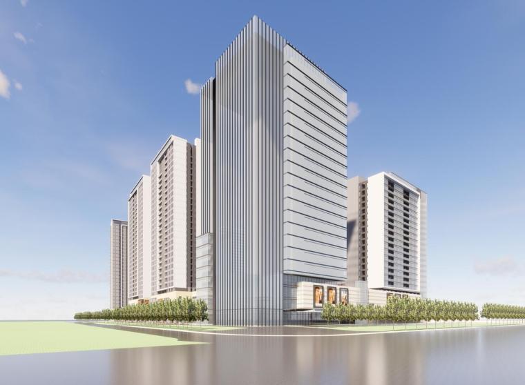 [湖南]长沙复地星光天地商业建筑模型设计(UA国际)