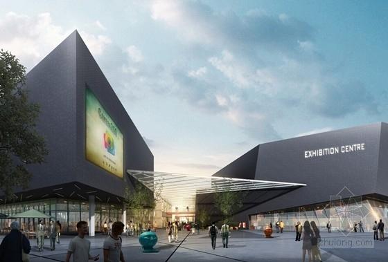 [合集]4套高新科技产业园建筑设计方案文本_2