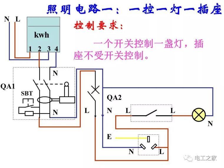 全彩图深度详解照明电路和家用线路_28