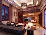 中式大气客厅3D模型下载