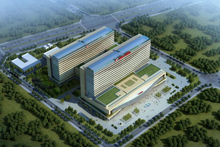 [四川]郫县人民医院建筑设计方案文本