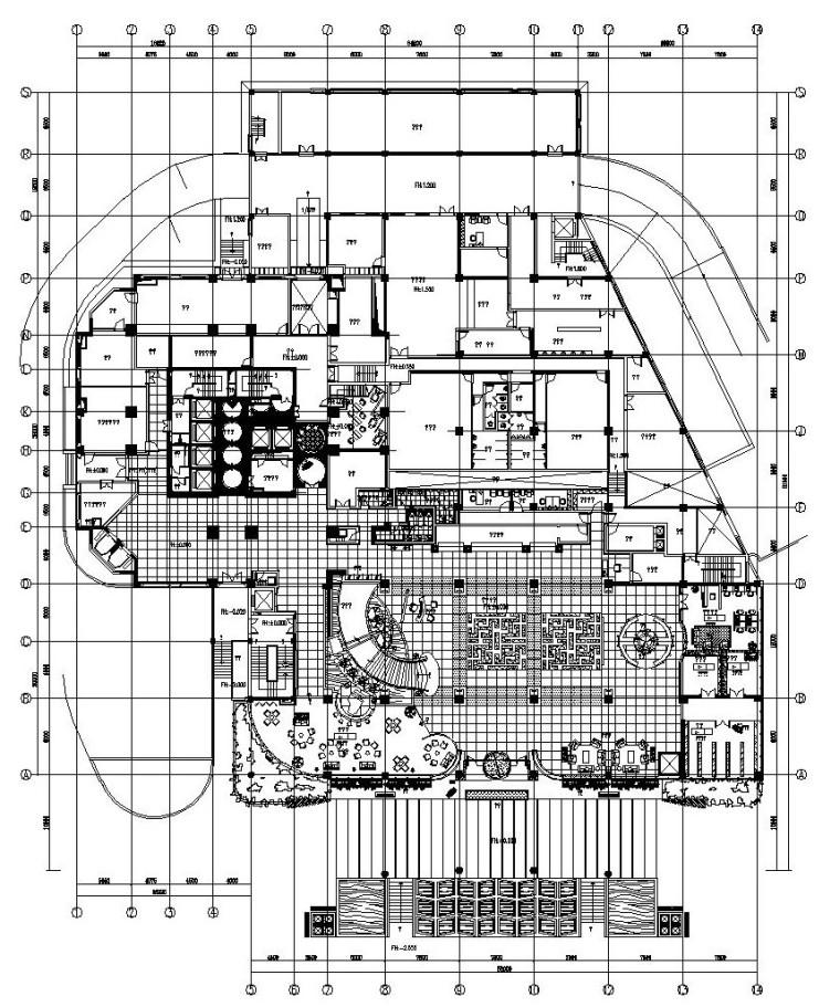 [浙江]五星级商务会议型酒店施工图(附效果图)