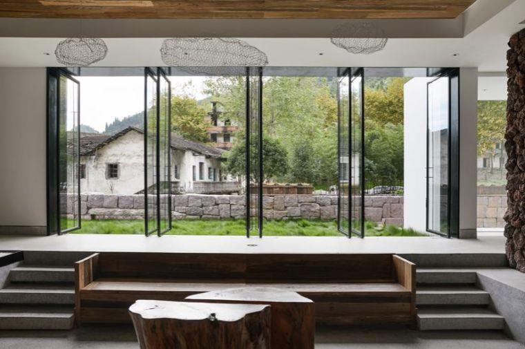 水泥厂改造成民宿,自然简约的设计就是这么美_15