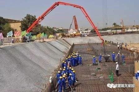 干货!混凝土浇筑施工工艺流程图_6