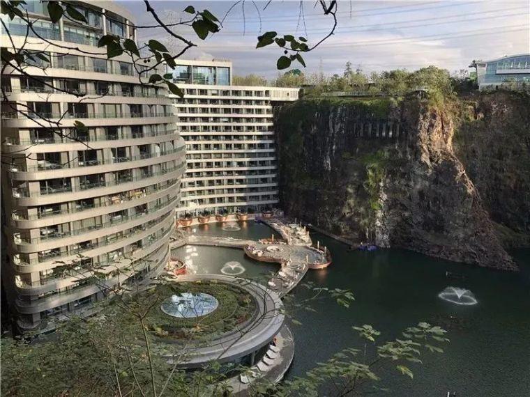 上海深坑酒店今日开业!多个极限施工成果等你来检阅