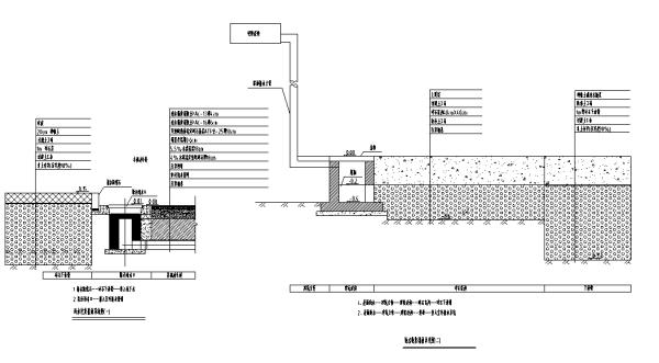 [合集]海绵城市办公空间景观设计施工图(3套)-排水系统图