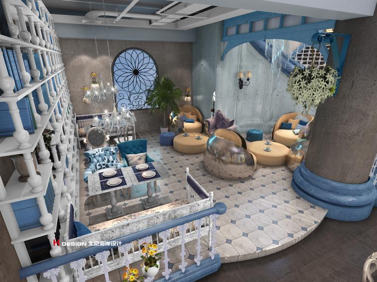 咖啡厅设计公司推荐-海岸咖啡厅设计_2