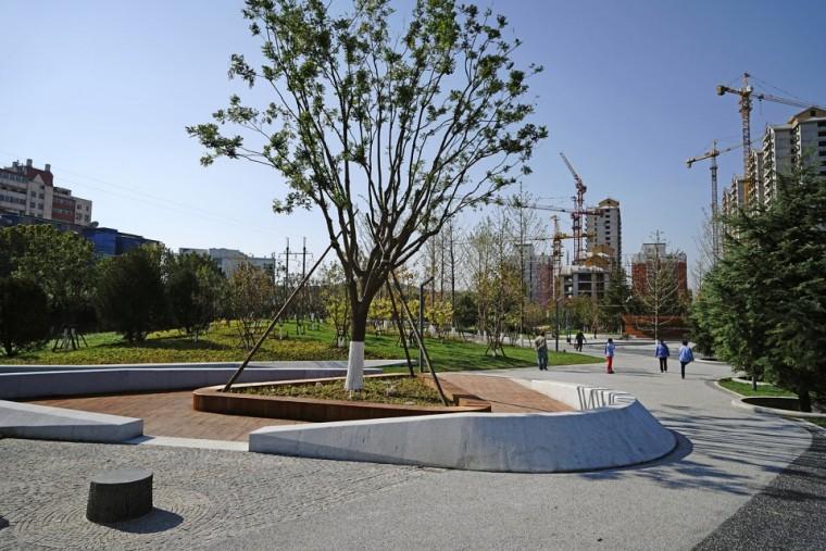 北京中关村科技园绿地改造