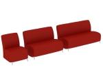红色沙发3D模型下载