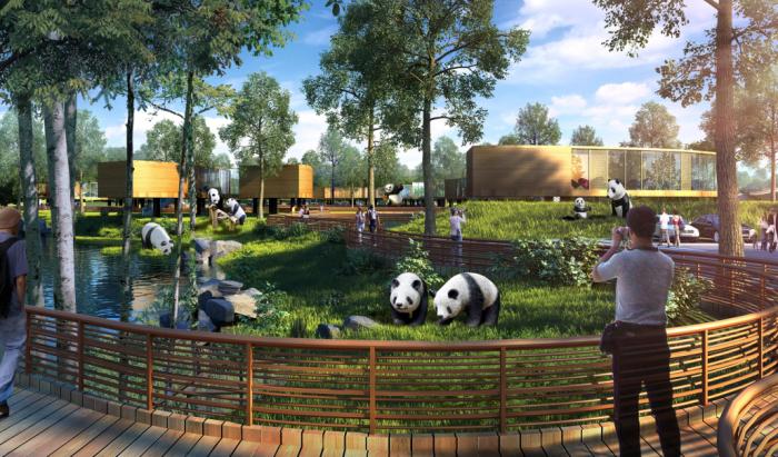 [四川]熊猫乐园生态旅游城市景观规划设计方案