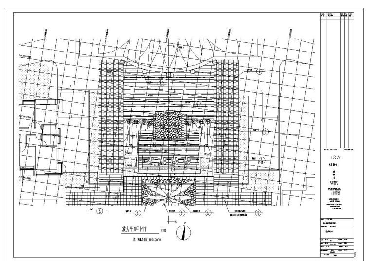 中山市朗晴轩启动区景观设计施工图一套——奥雅_4