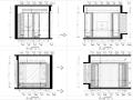 奢华永恒风格现代城样板房设计施工图(附效果图)
