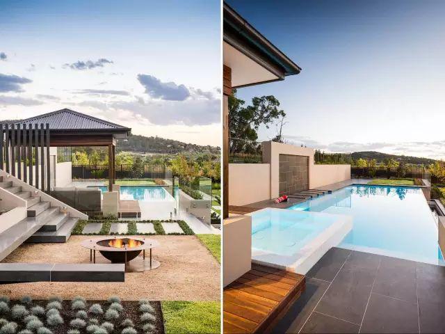 赶紧收藏!21个最美现代风格庭院设计案例_51