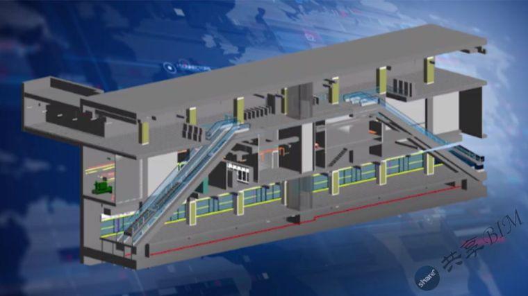 苏州轨道交通5号线两站一区间BIM设计应用