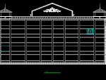 某卫生学校实验楼建筑施工图