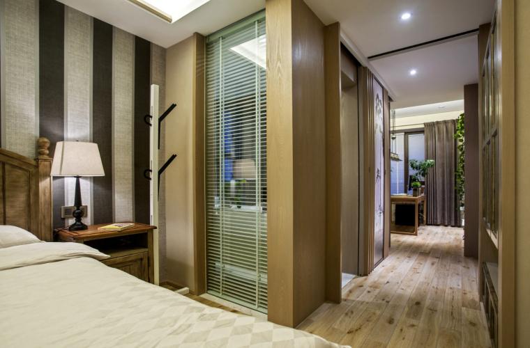 宁波木材质世贸湾公寓-11