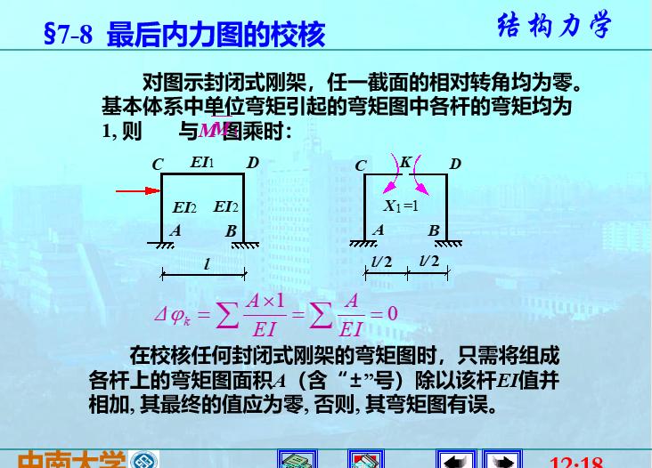 结构力学李廉锟版-力法_12