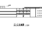 多层商场建筑平立面方案