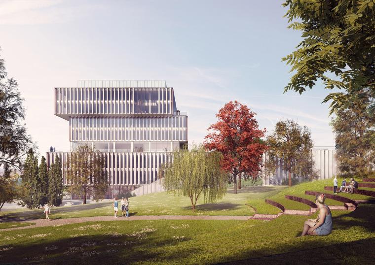 比利时可持续的Solvay国际办公总部-4