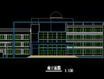 高中综合教学楼建筑施工图