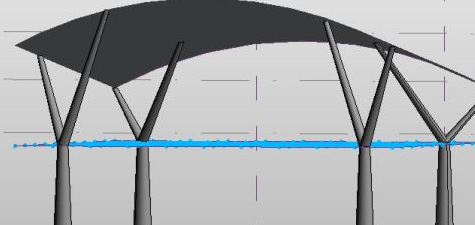 利用Revit自适应创建遮阳棚