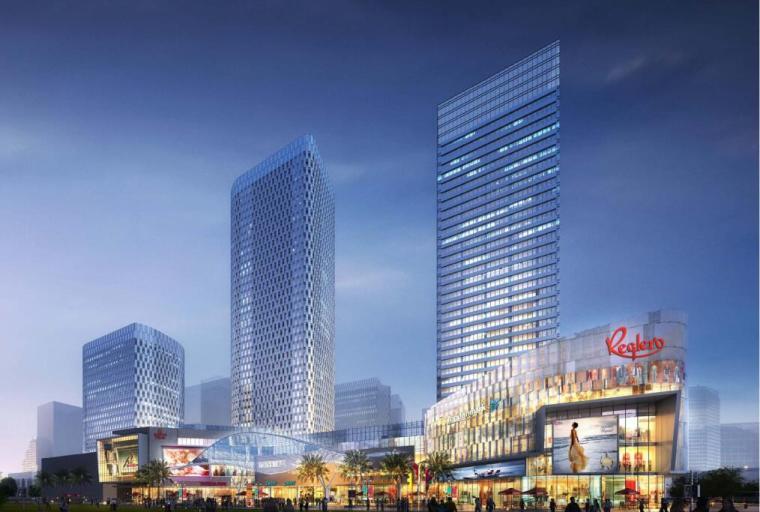 【山东】某环球金融中心规划建筑方案设计文本_2