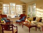 16款田园风格客厅,总有一种你喜欢!