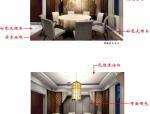 安徽某休闲中心首层徽菜馆施工图(含效果图)