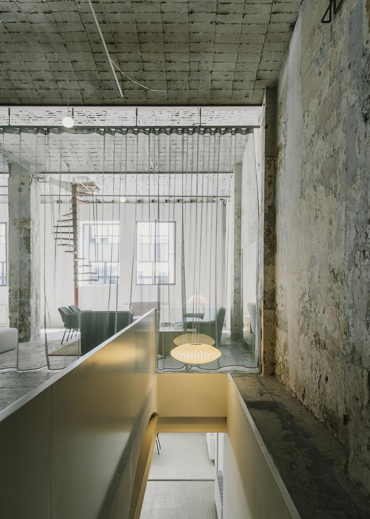仓库建筑的古典风格Montoya办公楼-21