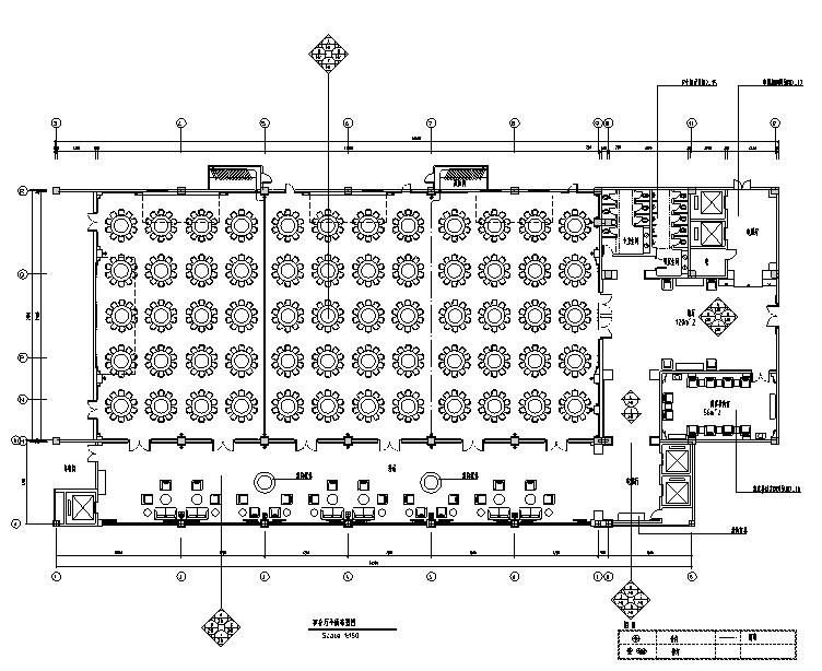 金沙明珠宴会酒店设计施工图(附效果图)
