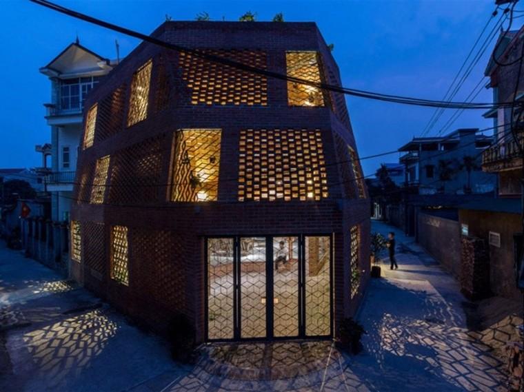 越南双层砖墙住宅