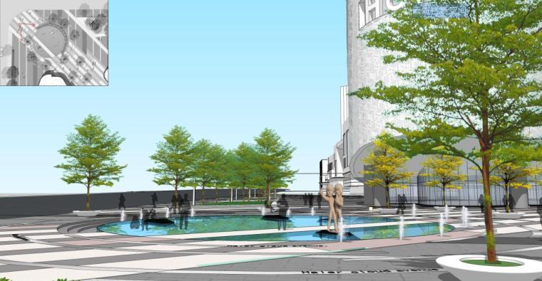 [中国]海尔居住区商业街(方案二)景观设计文本(包含PDF+156页)