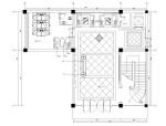 新中式酒楼室内装修全套施工图(附效果图)