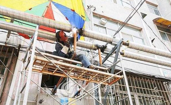 建设、振兴等小区供热管线维修工程施工组织设计