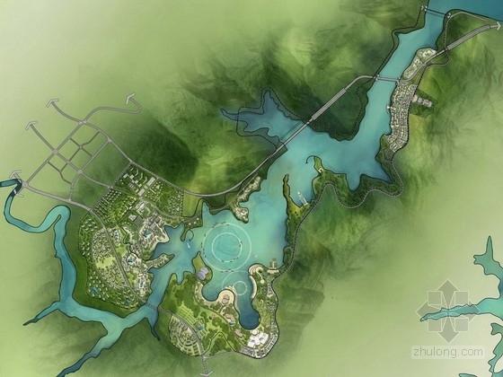 [重庆]三国文化滨湖生态旅游港湾总体景观概念规划方案
