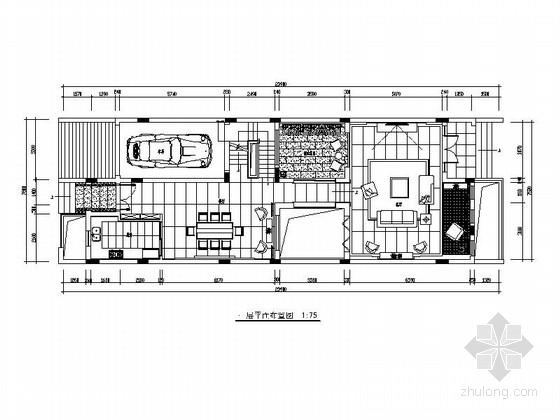 [深圳]国内最大别墅住宅区三层别墅欧式风格室内装修图(含效果图)
