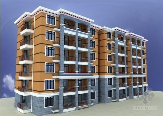 6层砖混住宅楼建安工程造价指标分析