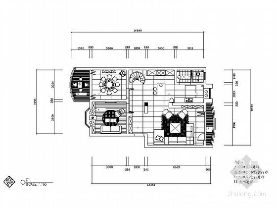 现代大气复式房室内装修图(含实景图)