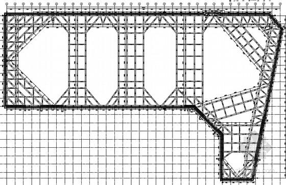 [江苏]10米深基坑灌注桩加一道内支撑支护施工图(TRD工法止水帷幕)