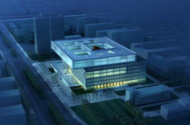 [天津]南开大学图书馆建筑设计全套方案文本(JPG+CAD)