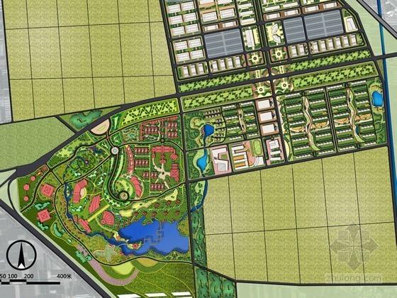 农业观光园景观概念设计