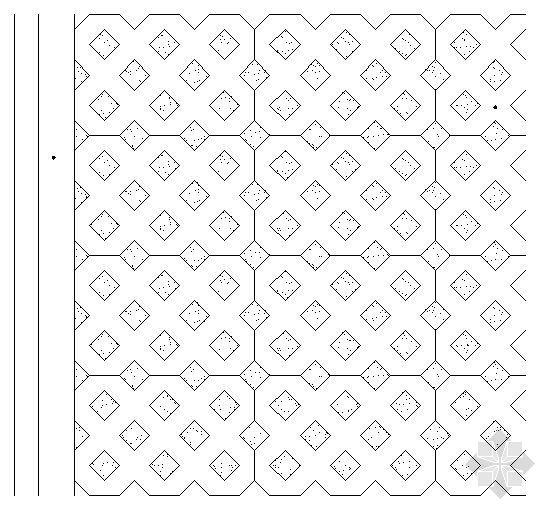 停车场铺地施工图