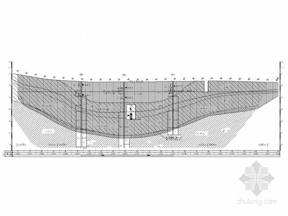 [湖南]除险加固水库大坝旋挖钻回填工程施工图